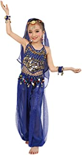 Promotion:Outfits Set for Girls,Party Dress Handmade Children Belly Costumes Kids Belly Dancing Egypt Dance Cloth