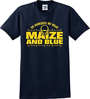 michigan maize and blue
