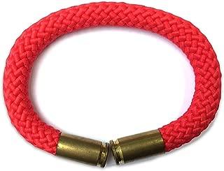paracord bullet shell bracelet