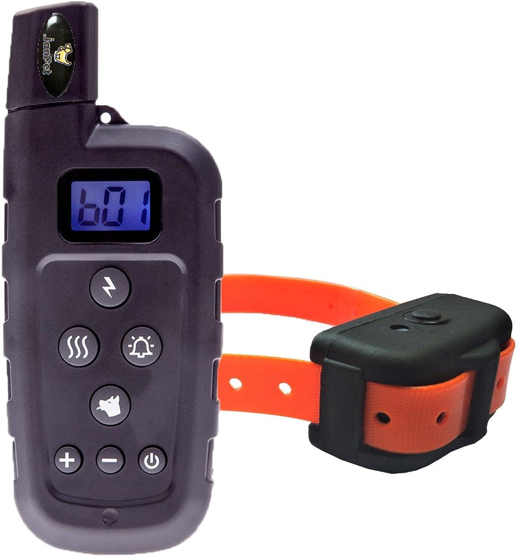 Collar per la formazione di cani con Remote, impermeabili e ricaricabili 600Yd Electronic Shock Collars, per piccoli /medi /grandi Comportamenti Dog su 10 Pounds (arancione)