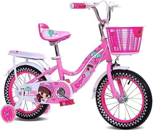 calidad fantástica JJ@ Bicicleta Infantil Infantil Infantil para Viaje al Aire Libre Bicicleta de Ocio con Rueda de Ejercicio 12 Pulgadas, 14 Pulgadas, 16 Pulgadas, 18 Pulgadas  los nuevos estilos calientes