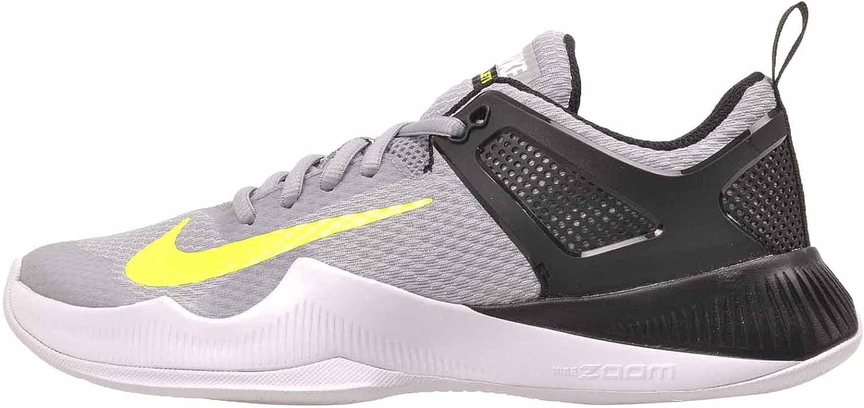 Nike Women's Air Zoom Hyperace Shoe, Wolf Grey/Volt-Black, 12 B(M) US