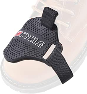 CHCYCLE Motorcycle Motorbike Shift Pad Shoe Boot Cover Protective Gear Black