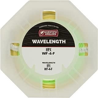 Scientific Anglers Wavelength MPX Taper - Amber / Optic Green, WF- 6-F