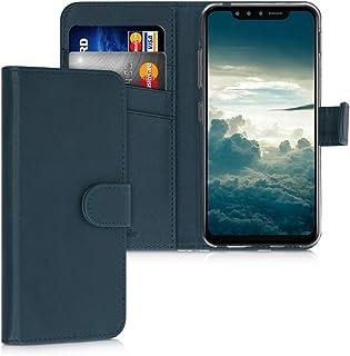 kwmobile 対応: LG G8s ThinQ ケース - スマホカバー 手帳型 PUレザー - 携帯 保護ケース カードポケット スタンド 付き