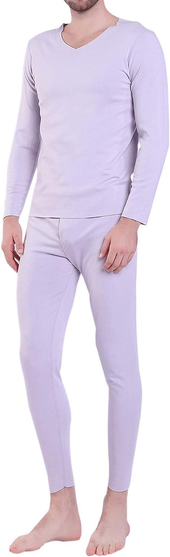 Elonglin Men's Ultra Soft NEW Thermal Elegant Set Underwear Sleeve Top Long