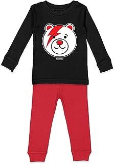 Teddy Bear Lightning Bolt - Pop Singer Kids Pajama Set
