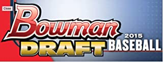 2015 Bowman Draft Picks Baseball Cards Hobby Box (24 Packs/Box, 7 Cards/Pack). Each box includes 1 autograph. Look out for other rookie inserts, parallels, and die cuts! 11/25 Release Date.