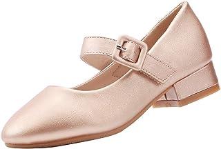 EIGHT KM EKM7010 Girls Mary Jane Low Heel Court Shoes