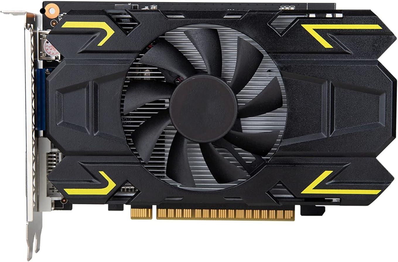 Tarjeta de video RX 560 4G Tarjetas gráficas de marca GPU 128Bit GDDR5 GTX 650960970 1050 TI 4G 1660S RTX 2060 6G Tarjeta gráfica para juegos Juego de computadora de escritorio(Color:GTX 650 2G)