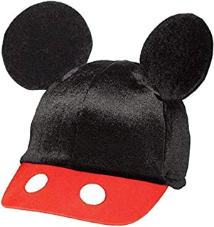 "Amscan DisneyMickey Mouse Birthday Party Mickey's Ear Baseball Hat Accessory, 5 5/8' X 3 1/2"", Black/Red/White"