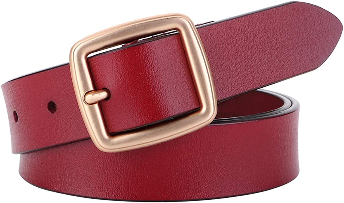 Challenge the lowest price of Japan OZZEG Fixed price for sale Womens Leather Belts Pants Black Women Jeans