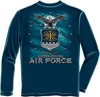 Erazor Bits air Force Shirt | Air Force USAF Missle Long Sleeve T Shirt MM147LS