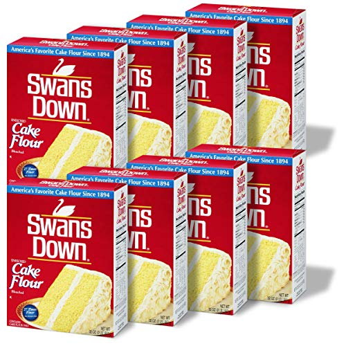 Swans Down Regular Cake Flour, 32-Ounce Boxes (Pack of 8) New Mexico