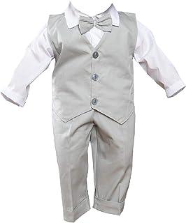 GRACEART Beb/és Bautizo Ropa para Ni/ños Ocasiones Outfit Especiales Bautizo para Ni/ños