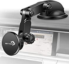 Car Phone Mount Holder Magnetic | BEYYON Phone Holder for Car Dashboard Windshield with 5 Strong Magnets for iPhone 11 Pro Xs Max XR X 8, Samsug Galaxy S10+ S9 S8,Note 9, LG, Huawei, etc.