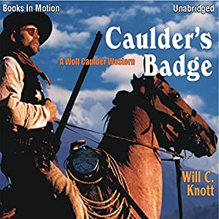 Caulder's Badge audiobook cover art