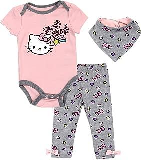 Hello Kitty Bodysuits Layette Sets