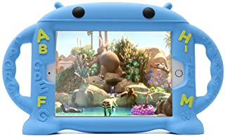 CHINFAI iPad Mini Case for Kids Shockproof Silicone Rubber Cover Cartoon Robot Stand Case with Handles for Apple iPad Mini...