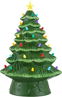 Mr. Christmas Unlit Conical Christmas Tree 16 in, Gree