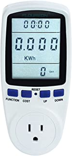 TS-836A Plug Power Meter Energy Voltage Amps Electricity Usage Monitor,Reduce Your Energy Costs