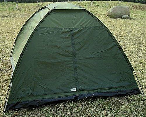 CN Outdoor Tente 3 Personnes avec Base et moustiquaire « Trooper » BW de Camouflage/Olive/BW Camo de Desert, Oliv