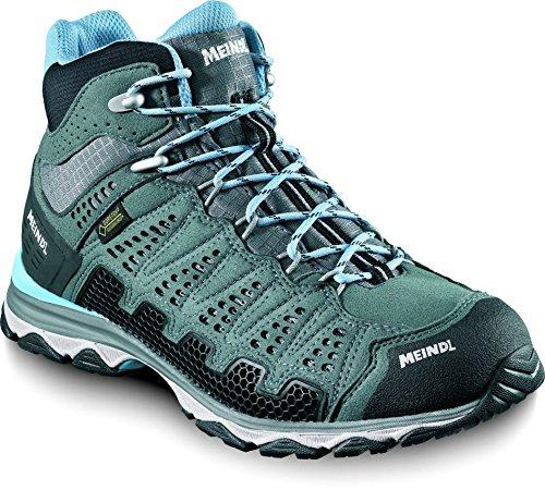 Meindl Schuhe X-SO 70 Lady Mid GTX Surround - anthrazit/Azur