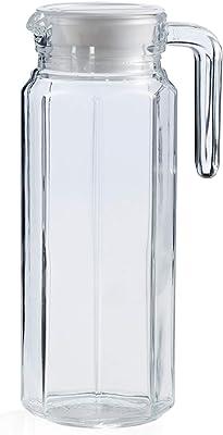 Style Setter Talise - Jarra de vidrio, 4.9x3.3x9.45, transparente