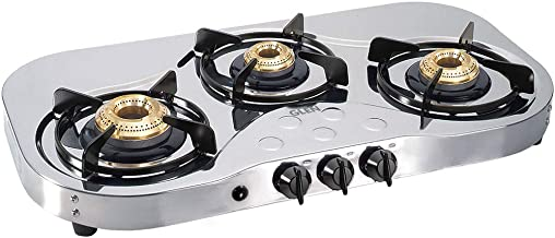 Glen 3 Burner LPG Gas Cooktop 1035 SS HF BB AI