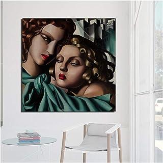 canvashop Quadri Moderni cm 100x70 Tamara de Lempicka Stampa su Tela Soggiorno