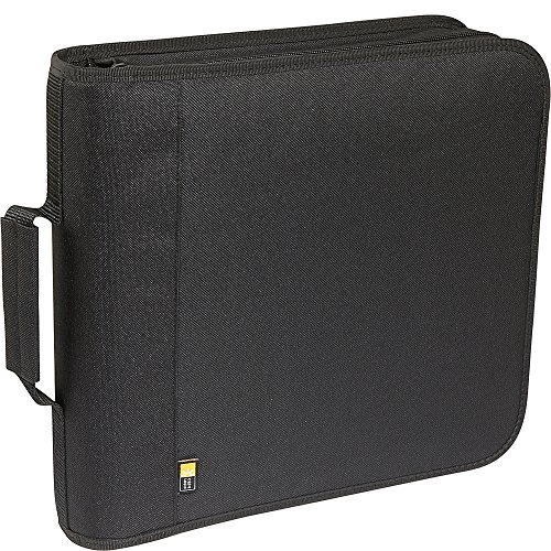 Case Logic 208 Capacity Nylon CD/DVD Wallet (Black)