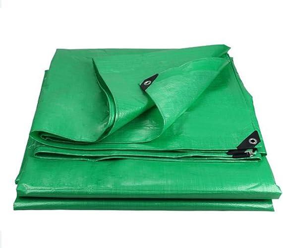 SGMYMX Bache Bache en PE imperméable Bleu bache de Haute qualité canopée Camping en Plein air Bache imperméable (Couleur   vert, Taille   8x10m)