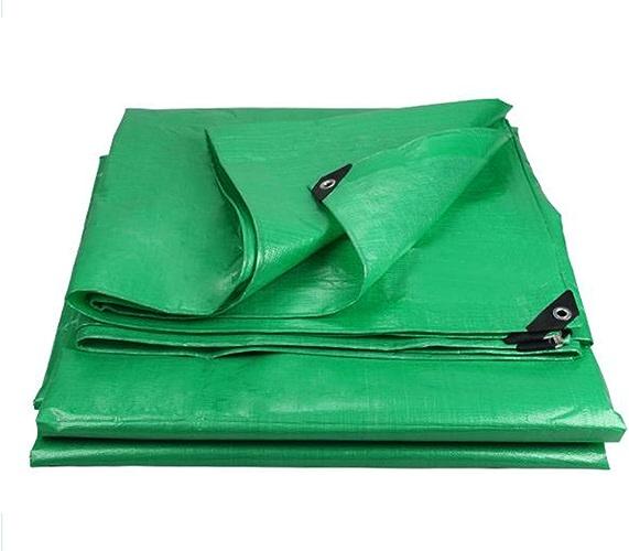 LJL Bache imperméable Bache imperméable Verte, Couverture imperméable de Camion, Parasol extérieur antipoussière et Coupe-Vent, résistant à Hautes températures et Anti-vieillissement, Bache Robuste