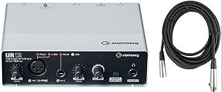 Steinberg UR12 USB Audio I/O (XLR in, HI-Z in) D-PRE's w/Cubase AI and XLR Cable
