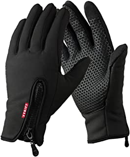 YYGIFT Touch Screen Winter Gloves Windproof Outdoor Cycling Sports Work Gloves for Men and Women