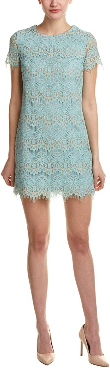 Cynthia Steffe Womens Marley Lace Mini Cocktail Dress