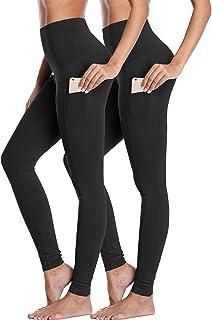 Neleus Women's Yoga Leggings Tummy Control Workout Yoga Pants