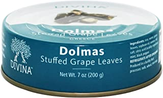 Divina, Stuffed Grape Leaves, Dolmas, 7 oz. (4 pack)