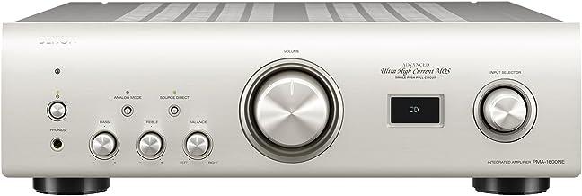 Denon PMA-1600NE 2.0 Plata - Amplificador de Audio (2.0 Canales, 0,01%, 108 dB, 140 W, 70 W, 2,5 mV)