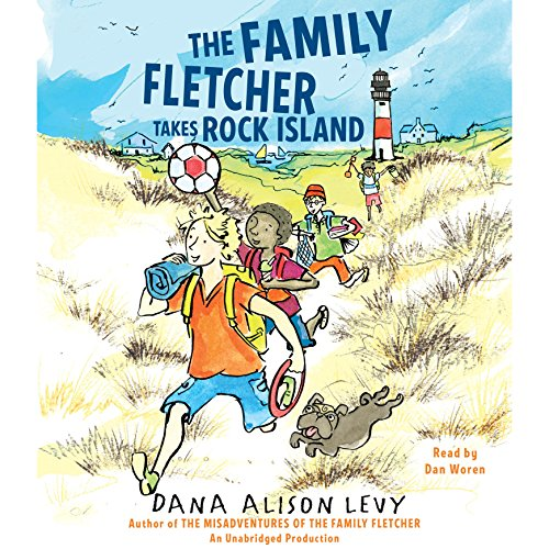 The Family Fletcher Takes Rock Island audiobook cover art