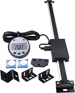 "Yescom 12"" Remote Digital DRO Table Readout Scale for Bridgeport Mill Lathe Linear Magnetic"