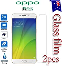 [2-Pack] For Oppo R9S Tempered Glass LCD Screen Protector Film Guard