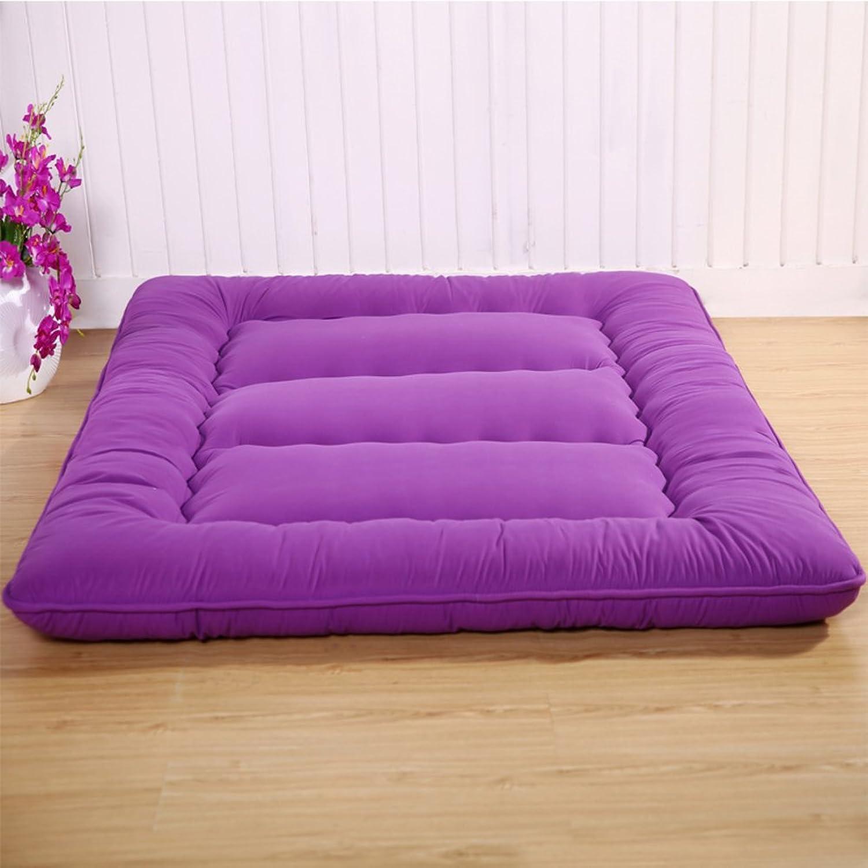 Thicken Futon Mattress Mat Topper, Foldable Matt Mat Sleeping Pad Breathable Crawl Mat Japanese Bed Roll for Students Dorm Home-j 100x200cm(39x79inch)