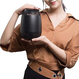 Chlry Mata Mosquitos Moscas electrico, matamoscas electrico, Alimentado por USB, Asesino de Mosquitos de luz Ultravioleta, Asesino de Mosquitos por inhalación, Operación de Silencio, Negro