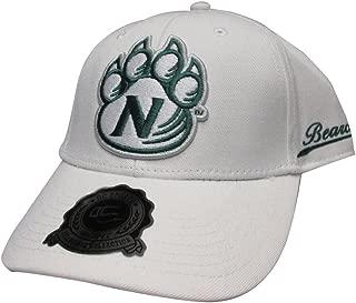 Northwest Missouri State Bearcats White College Team Strap Back Hat Cap