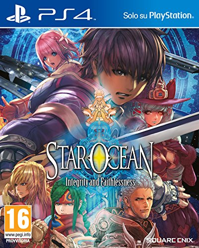 Star Ocean Integrity And Faithlessness [Importación Italiana]