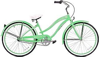 Micargi Rover NX3 Beach Cruiser Bike, Mint Green, 26-Inch