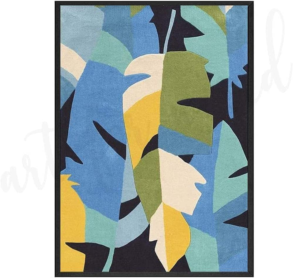 Ranking TOP10 Plant Oil Painting Woman Sitting Leaf Canvas Art SALENEW very popular Living