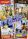 Lets Play Ball Collection (The Sandlot / The Sandlot 2 / Rookie of the Year / Everyone's Hero)
