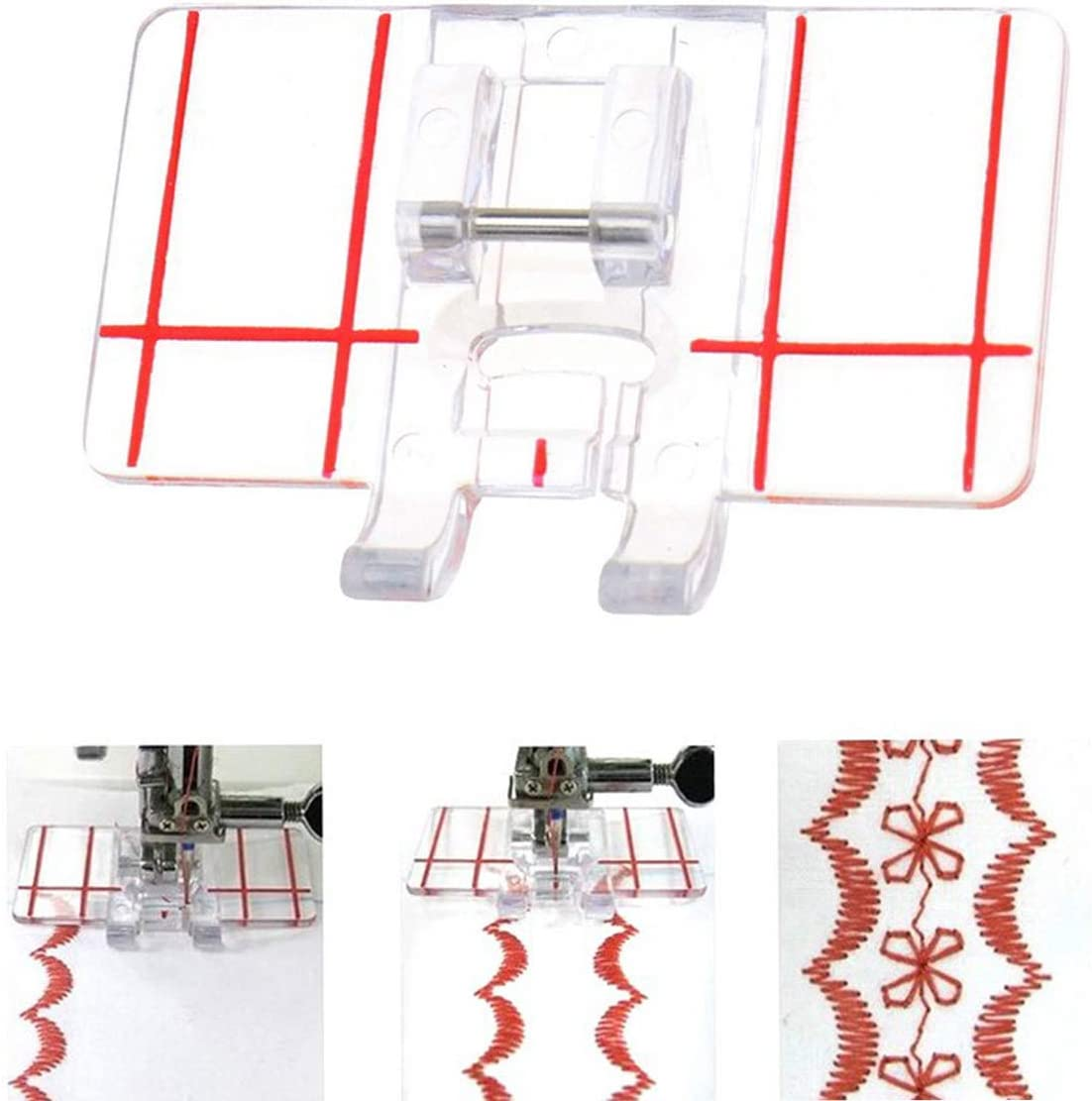 Over item handling Max 75% OFF ☆ Border Guide Sewing Machine Presser Foot Shank Sn Fits Low All -